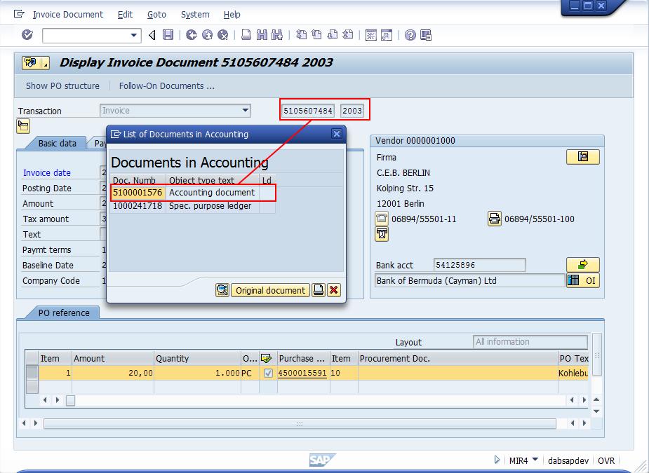 SAP® Kreditorenbuchhaltung | dab: Daten - Analysen & Beratung GmbH