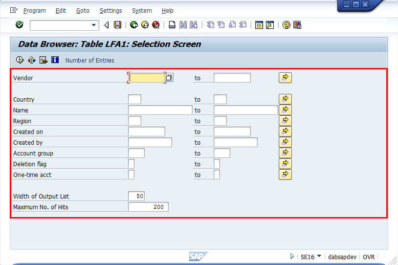 sap se16 In se16n you can change sap tables directly i explained how to in a previous post i also warned for the risks involved in doing this luckily direct changes in sap tables are also logged, so you can trace back to the culprit who messed things up you can query the following sap.